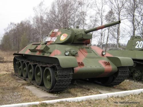 34 — лучший танк второй мировой войны