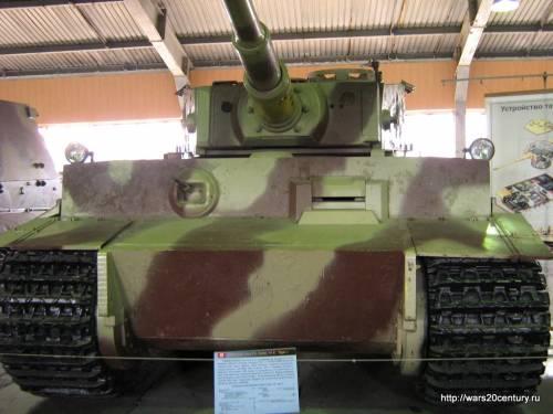 танк Pz.Kpfw.VI Тигр