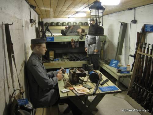 реконструкция финского бункера на линии Салпа