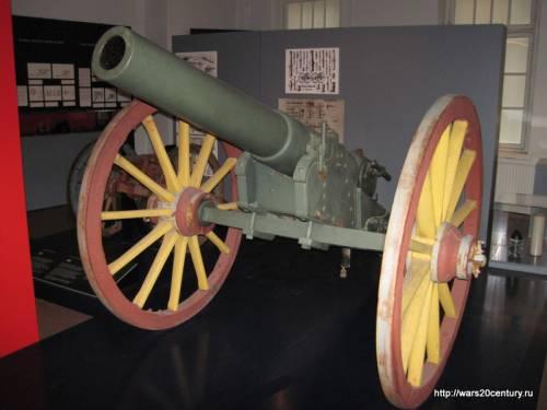 русская батарейная 107 мм пушка образца 1877 года